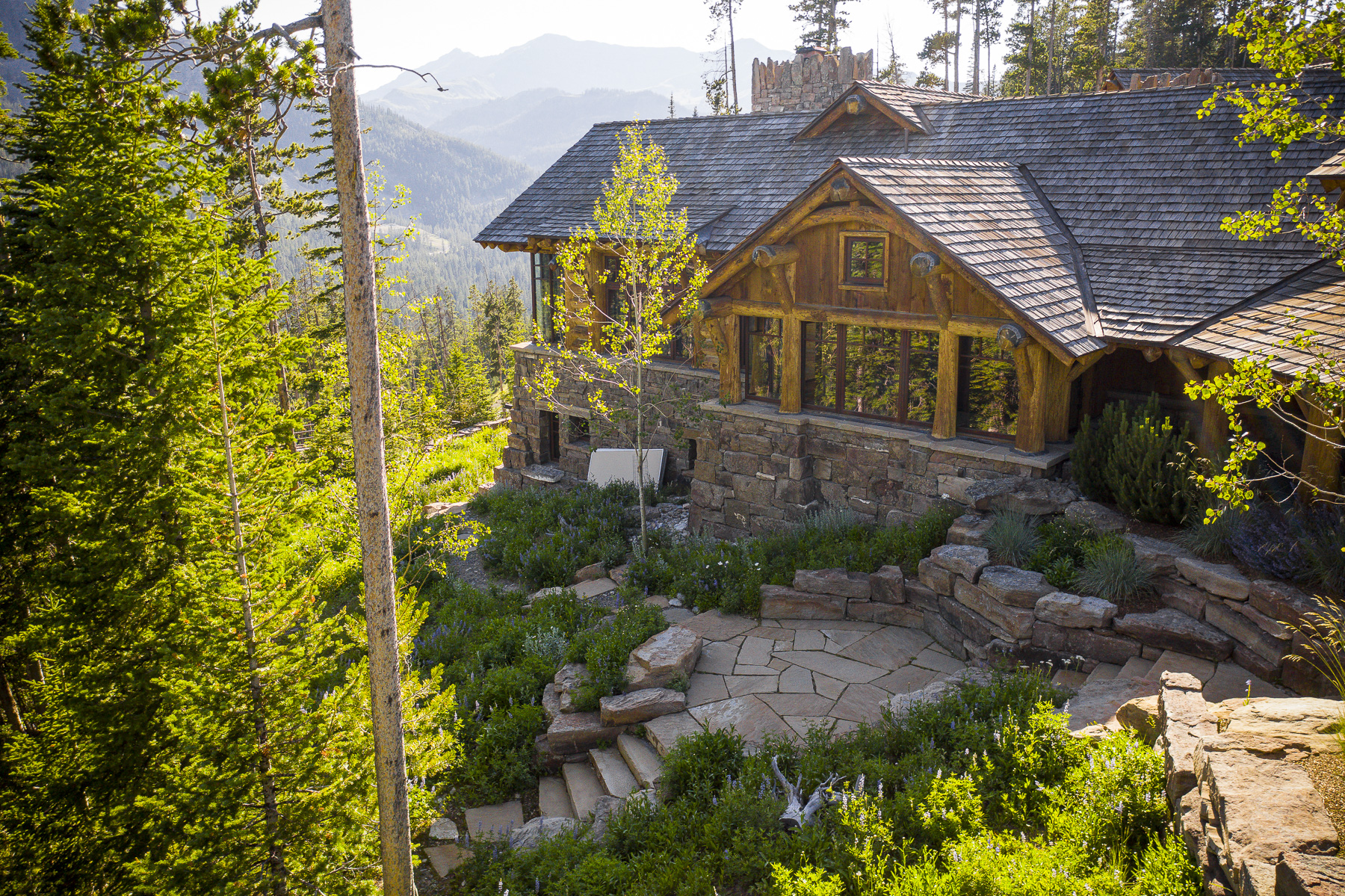 Sustainable landscaping using the natural environment to design