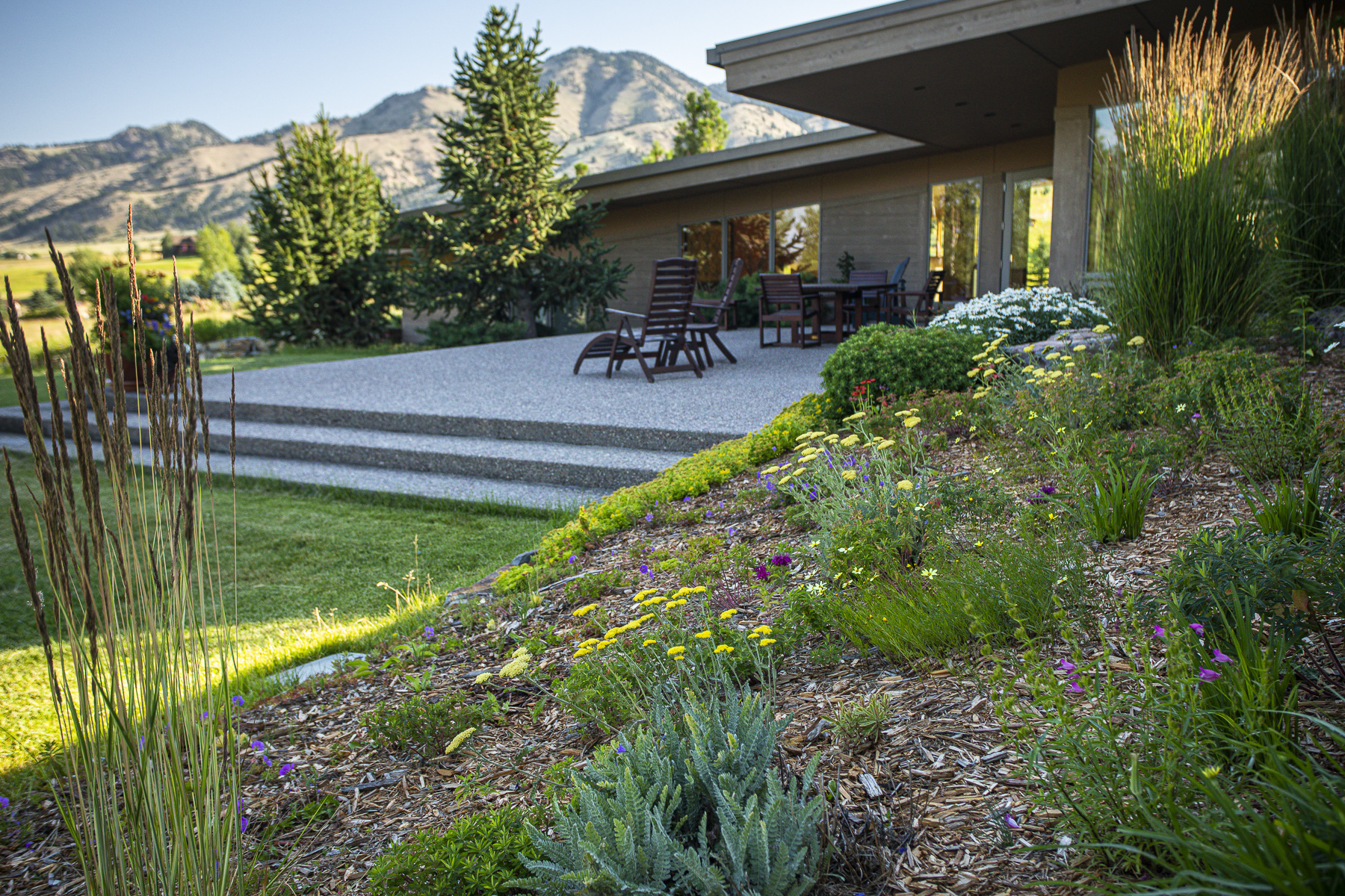 Sustainable landscaping in Montana